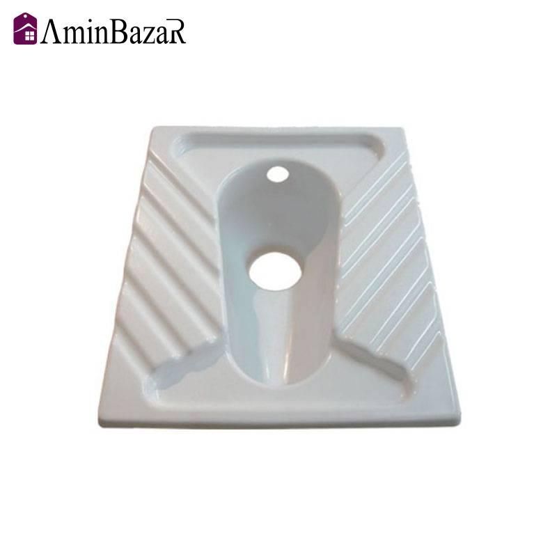 توالت زمینی پلاستیک اکریلیک/ABS سنی پلاستیک مدل سیوان