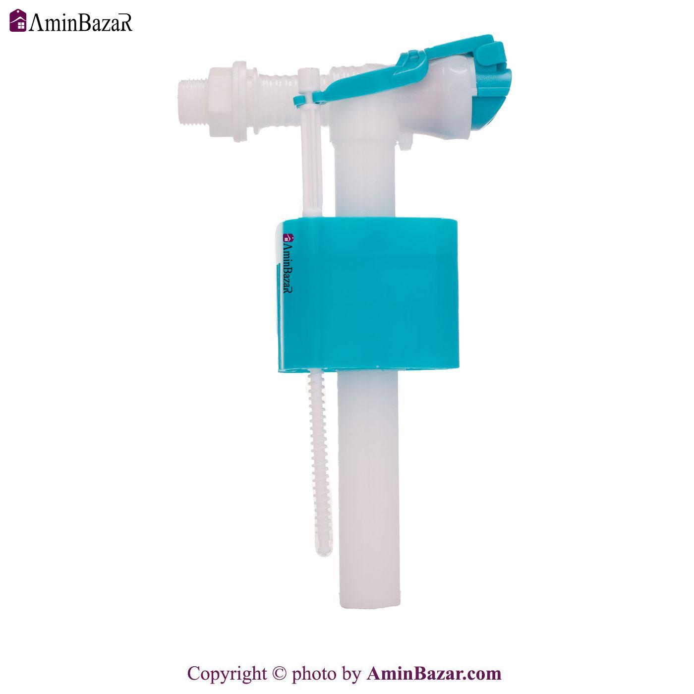 شیر شناور و فلوتر فلاش تانک و توالت فرنگی محک با ورودی آب از بغل کد 811